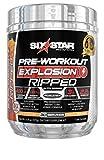 Pre Workout + Weight Loss   Six Star PreWorkout Explosion Ripped   Pre Workout Powder for Men & Women   PreWorkout Energy Powder Drink Mix   Sports Nutrition Pre-Workout Products, Peach Mango, 30 Serv