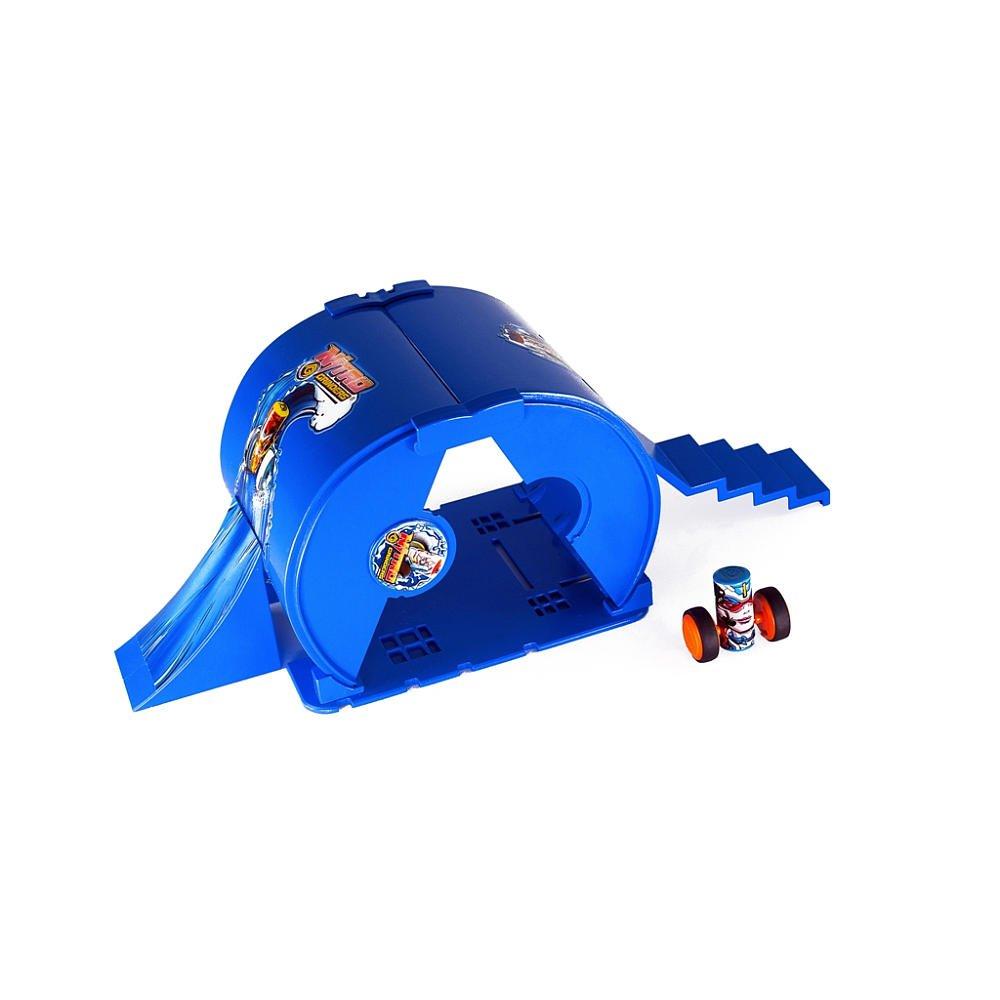 Nitro Grinders Ramp Set - Blue Tsunami Inverted Pipe