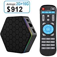 ESHOWEE Android TV Box T95Z PLUS Amlogic S912 Octa-core 2.4/5GHz Dual WIFI 1000M LAN 4K2K 2GB/16GB