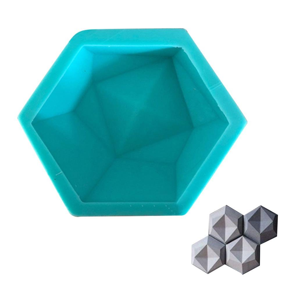 Labyrinen Geometric Shape Wall Concrete Wall molds, TV Background Decoration Wall Brick Silicone molds , Hexagon Wall Tile Handicraft Silicone Mold
