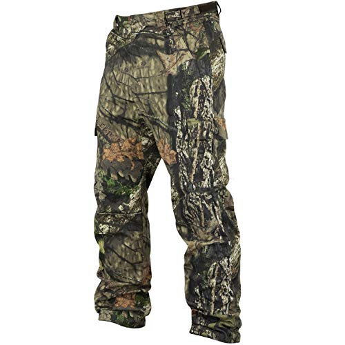 Mossy Oak Men's Cotton Mill 2.0 Camouflage Hunting Pant in Multiple Camo Patterns, X-Large