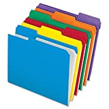 Pendaflex Top-tab file folders 8.50'' x 11'' Sheet Size - 1/3 Tab Cut, Assorted Color, 100/Box (R152 1/3 ASST) 2-Pack