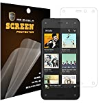 [5-PACK] Mr Shield Amazon Fire Phone Premium Clear Screen Protector with Lifetime Replacement Warranty