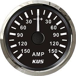 KUS Ammeter AMP Gauge 150A With Current Pick-up Unit 52mm(2\