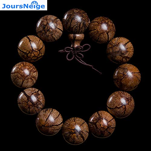 Plum Blossom Pattern Natural Bracelets | Buddha Beads and String Lucky | for Men Jewelry