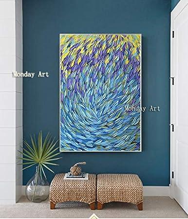ZHUAIBA Pintado a Mano Famoso Picasso Pintura alóleoAbstractaPinturaal óleo decoración del hogar Arte de la Pared Cuadros para Vivir 50x75 cm