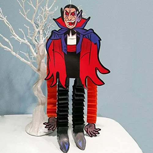 Party Diy Decorations - 1pc Festival Halloween Hanging Horror Decoration Outdoor Vampire Witches Paper Ornaments Zombies - Party Decorations Party Decorations Beach Multi Decor Horror - Hood Ornament Spider