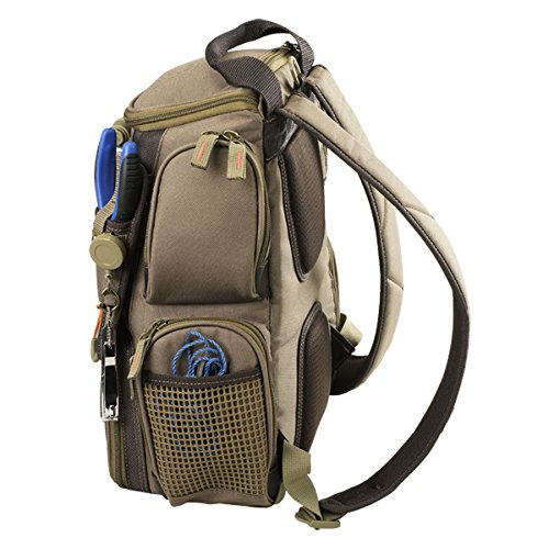 Wild River by CLC WT3503 Tackle Tek Recon Lighted Compact Tackle Backpack with Four PT3500 Trays and Clear, Water-resistant Phone Storage by Custom Leathercraft (Image #7)