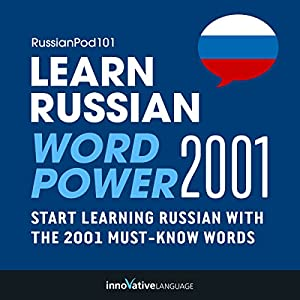 Learn Russian - Word Power 2001 Audiobook