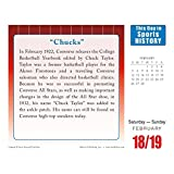 This Day in Sports History 2017 Daily Desk Boxed Calendar