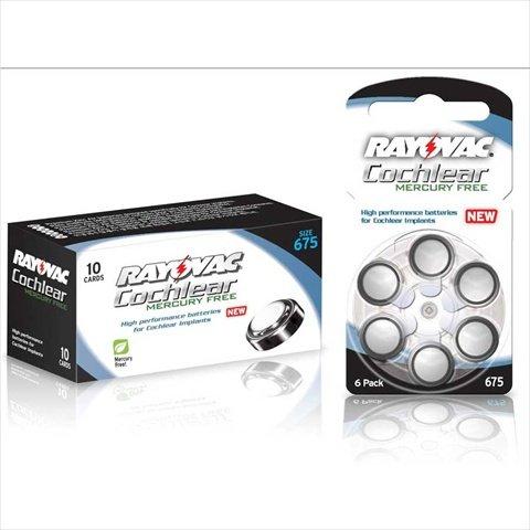 Amazon.com: Rayovac Cochlear Mercury-Free Batteries44; Box - 60: Electronics