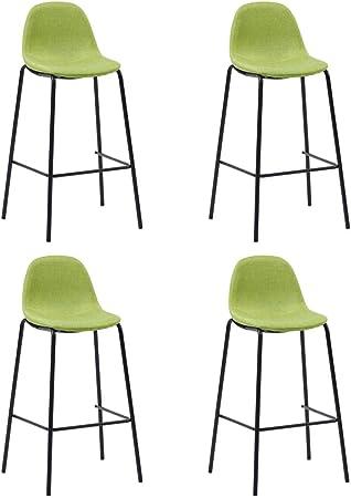 vidaXL 4X Chaises de Bar Siège de Bistrot Chaise de Comptoir