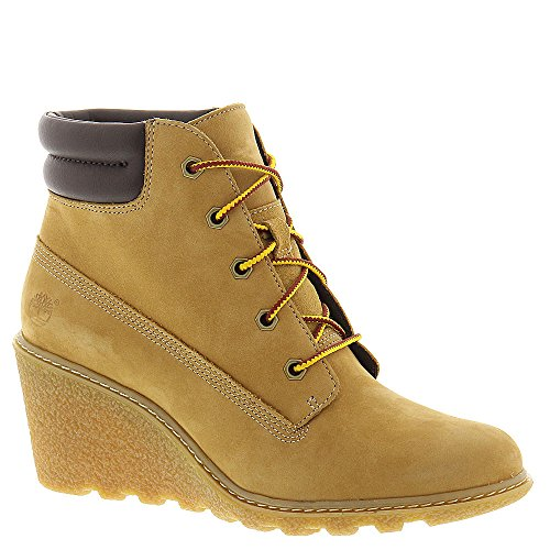 Galleon - Timberland Womens Women Amston 6IN Wedge Boot W Wheat Nubuck Size  8.5 05ce12acc85