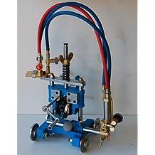 BLUEROCK Tools Model CG-211Y Manual Pipe Cutting Machine - Track Torch Burner