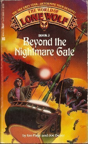 Beyond the Nightmare Gate (World of Lone Wolf) by Ian Page (1992-09-01)