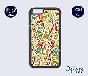 MEIMEIiPhone 6 Plus Case - Colorful Paisley iPhone CoverMEIMEI