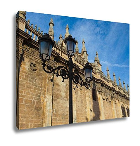 Ashley Canvas, Seville Cathedral At Sunset Spain, Home Decoration Office, Ready to Hang, 20x25, AG6376909 by Ashley Canvas
