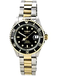 Men's 8927OB Pro Diver 18k Gold Ion-Plated and Stainless Steel Watch