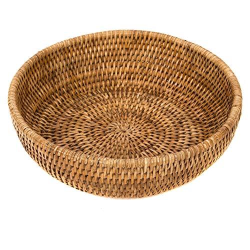 - Artifacts Rattan Bowl, 10