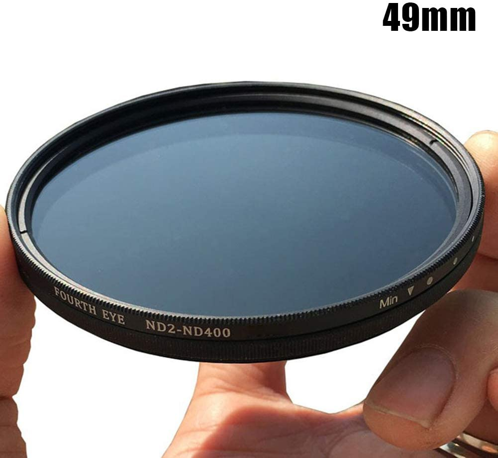 58Mm Lishiny ND2-400 Neutral Density ND Filter Fader Variable Adjustable Optical Glass Lens