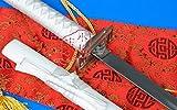 """S2607 BLEACH ICHIGO KORUSAKI TENSA ZANGETSU ZANPAKUTO SWORD CURVED WHITE 40.7"""""""