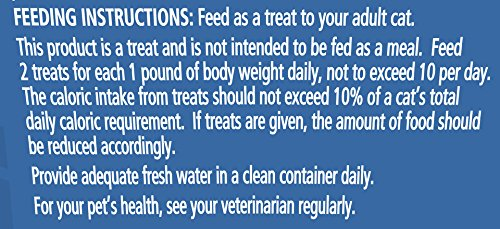 Purina Whisker Lickins Crunchy & Yummy Tuna Flavor Cat Treats, 4-Ounce Canister, Pack of 10