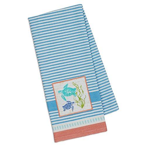 Design Imports DII Embellished Dishtowel (Sea Turtles) by Design Imports