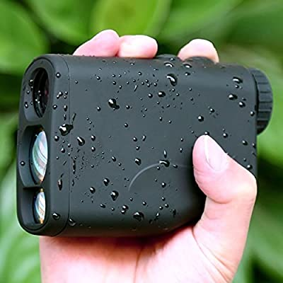 Rangefinder,Crenova LR600 Range Finder Waterproof Golf Rangefinder with PinSeeker 20-Seconds Scan Laser + Free Battery + 1 Year Warranty from Crenova