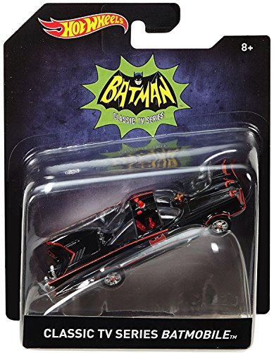 Classic TV Series Batmobile Hot Wheels Die Cast Car 1:50 - Car Series Classic