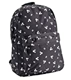 Disney Adult Zippered Backpack Classic Mickey Mouse Bag
