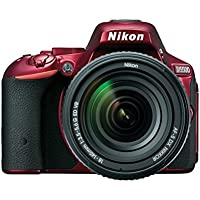 Nikon D5500 DX-format Digital SLR w/ 18-140mm VR Kit (Red) Explained Review Image