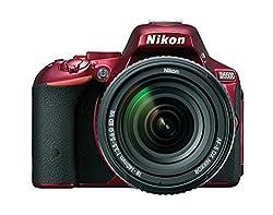 Nikon D5500 Dx-format Digital Slr W 18-140mm Vr Kit (Red)