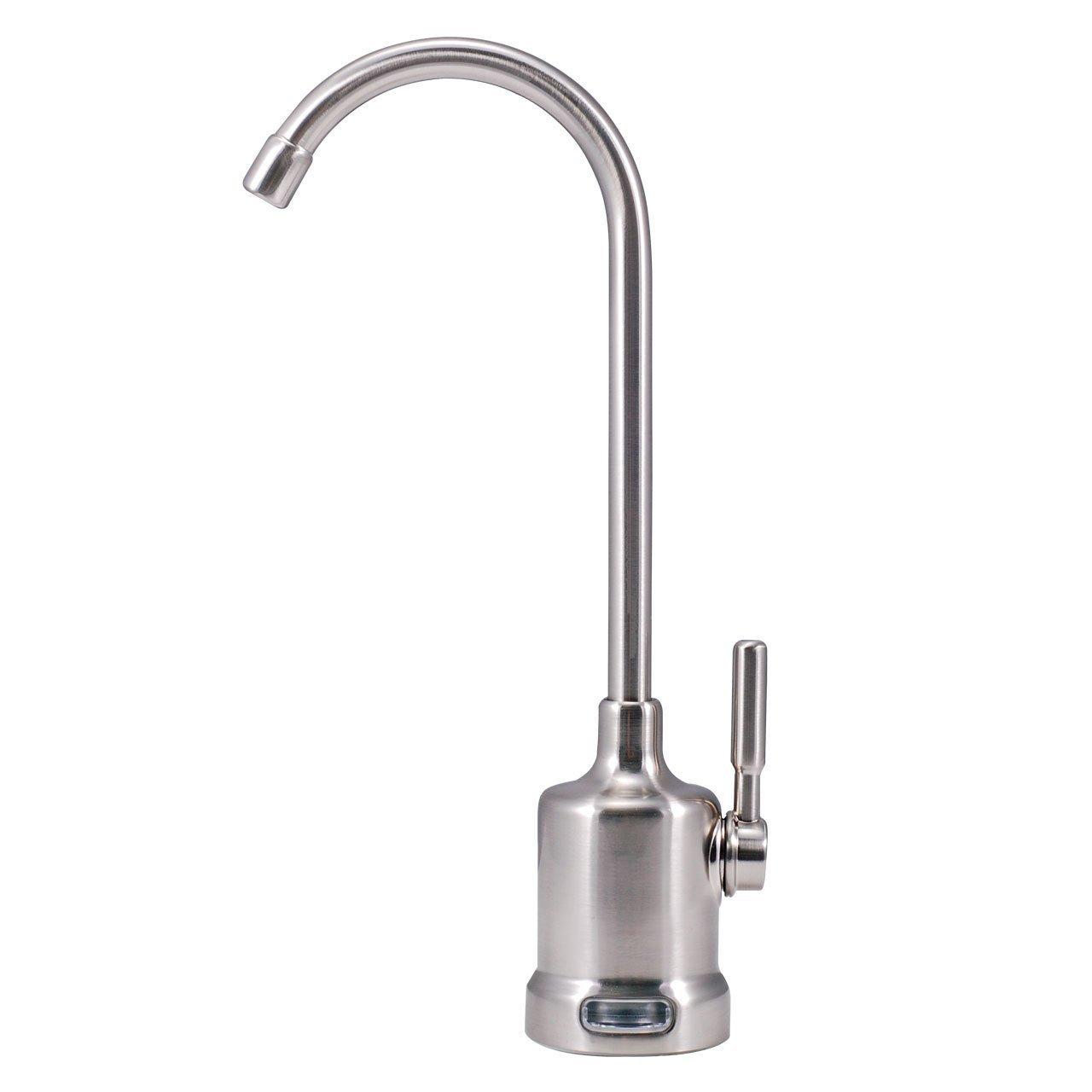 Watts Premier 116093 Air-Gap Top-Mount Monitored Faucet Brushed Nickel