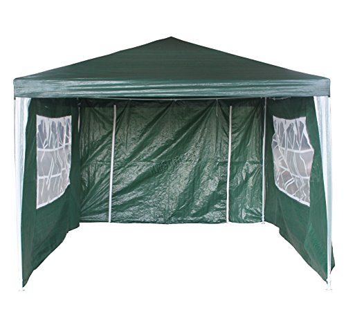 Foxhunter Waterproof 3m X 4m Pe Gazebo Marquee Awning