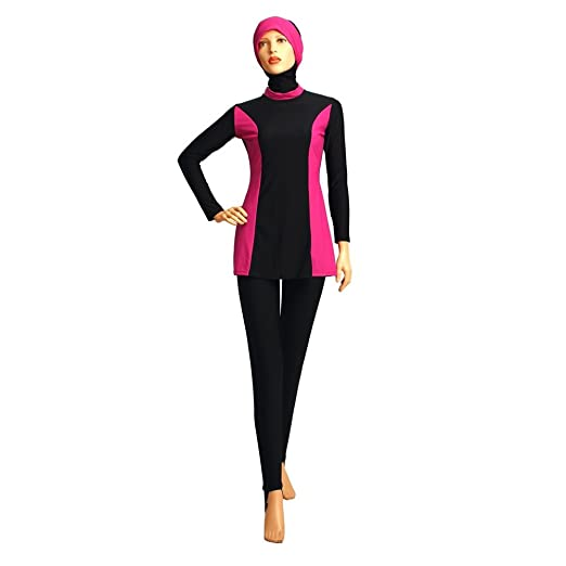 a1a4fc83846f9 Image Unavailable. Image not available for. Color  2017 New Design Modest  Muslim Swimwear Islamic Swimsuit For Women hijab ...