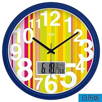 Strange Amazon Com Fortunevin Wall Clock Silent Movement Wall Clock Download Free Architecture Designs Rallybritishbridgeorg