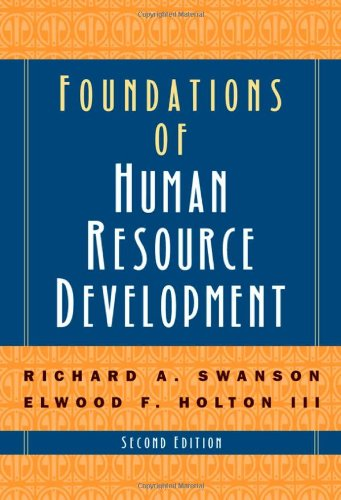 Foundations Of Human Resources Devel.