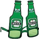 Bristol Novelty BA278 Beer Bottle Glasses, One Size