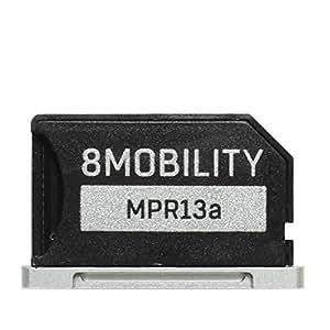 8Mobility iSlice Micro SD Adaptador de aluminio para MacBook Pro Retina de 13
