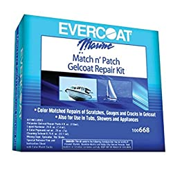 Fiberglass Evercoat Evercoat 100668 Match N'patch Repair Kit - 4 Oz.
