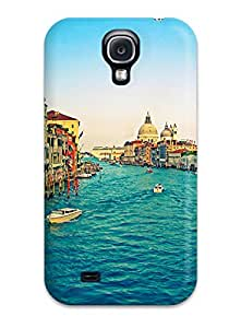 New Premium Galaxy Case Cover For Galaxy S4 Grand Canal Protective Case Cover