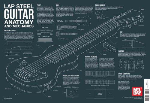 (Lap Steel Guitar Anatomy and Mechanics Wall Chart (Anatomy Wall Chart))