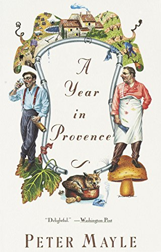 A Year in Provence (Vintage Departures) cover