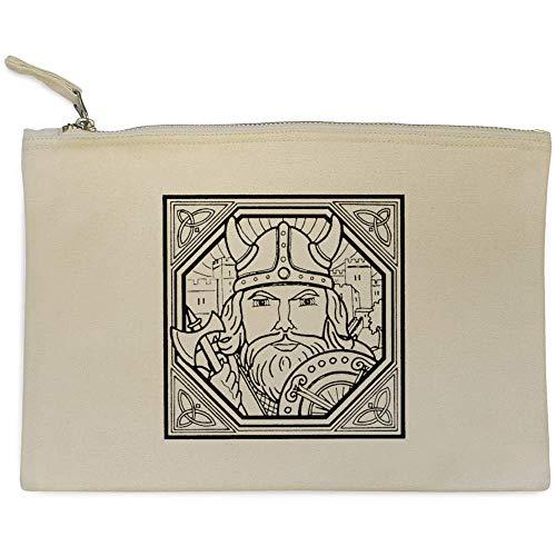 'cuadrado cl00004252 Case Bolso Accesorios Azeeda De Viking Embrague Motif' qq7Sd