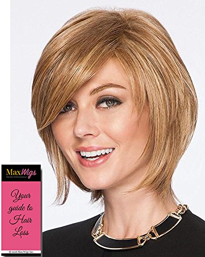 - Sleek and Chic Wig Color SS25 Ginger Blonde - Hairdo Wigs Short Textured Layered Bob Tru2Life Heat Friendly Synthetic Tapered Back Bundle with MaxWigs Hairloss Booklet