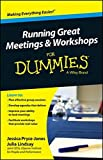 img - for Running Great Meetings and Workshops For Dummies by Jessica Pryce-Jones (2014-04-28) book / textbook / text book