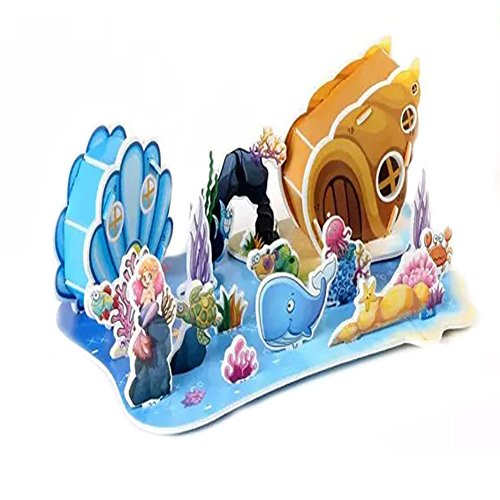 3D Puzzles Building Mold Toy For Kids,Educational Preschool