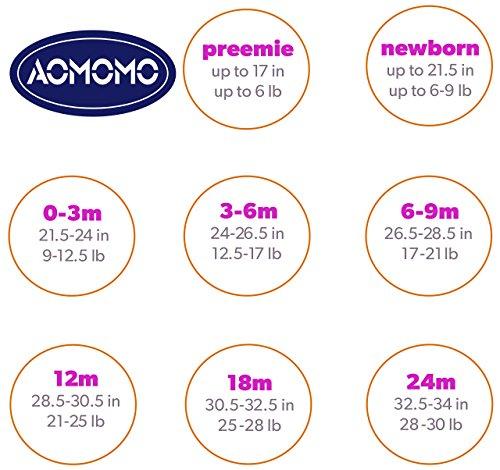 AOMOMO Unisex-Baby Newborn I Love Mummy I Love Daddy Bodysuit 2 Pack (3 Month) by AOMOMO (Image #6)