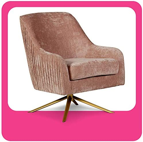 Elle Decor Jolie Swivel Chair Lounge