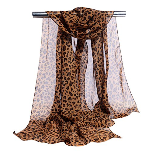 GERINLY Chiffon Scarves Animal Leopard product image